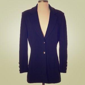 St. John's black blazer